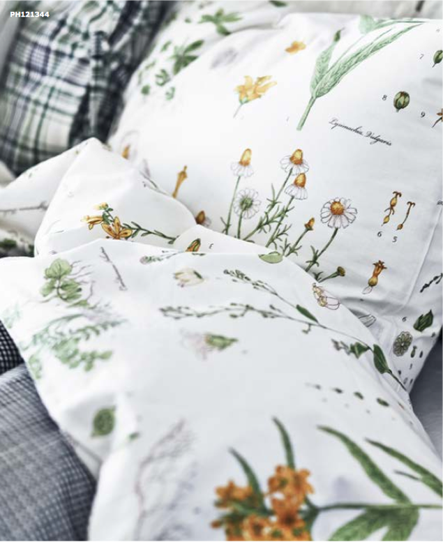 20 New Things For Your Home This Fall From Ikea Ikea Bed Botanical Bedroom Murphy Bed Ikea