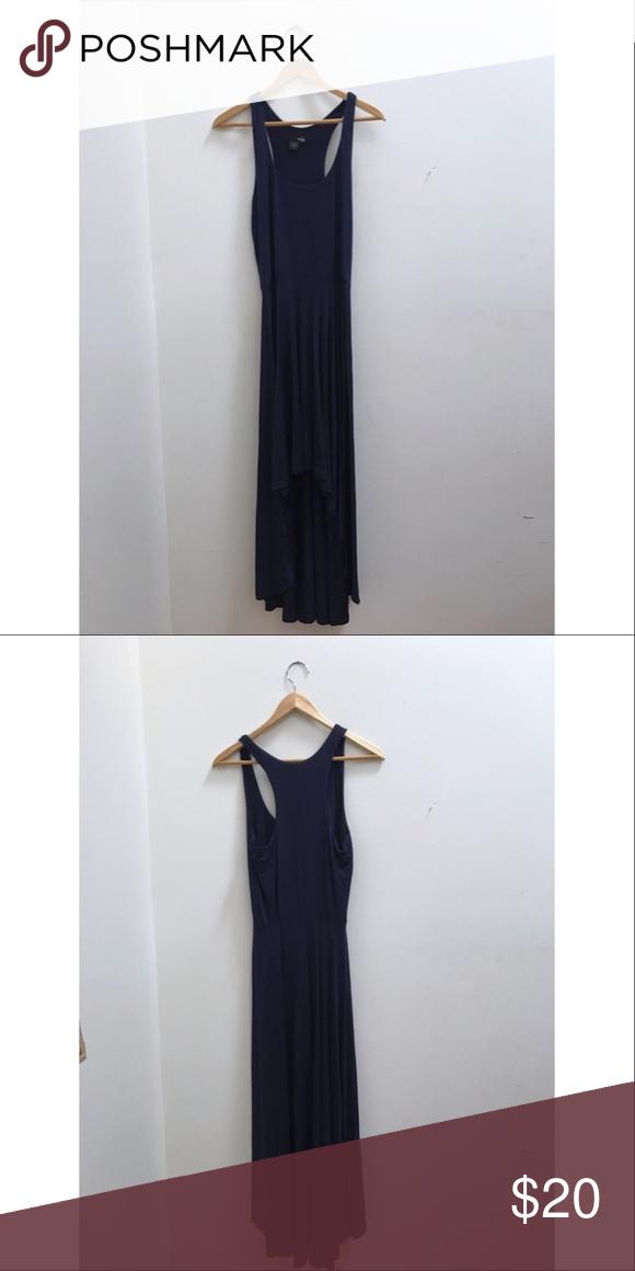 Aqua High Low Dress Extremely soft high low dress. Racerback cut in the back. Aqua Dresses Asymmetrical