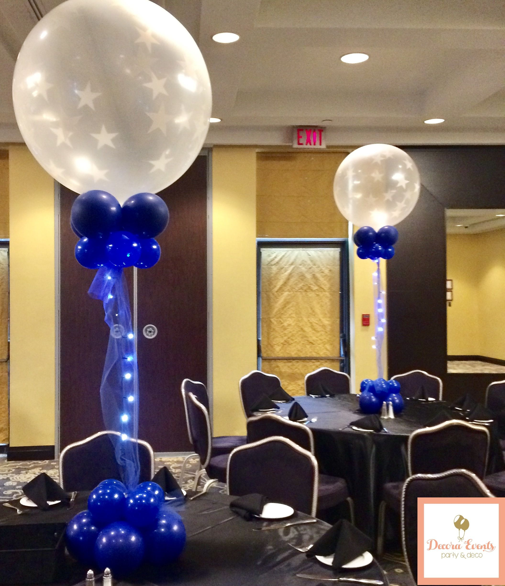 Space Themed Decorations Part - 34: Out Of This World Decoration For A Space Themed First Birthday Party. A  Combination Of