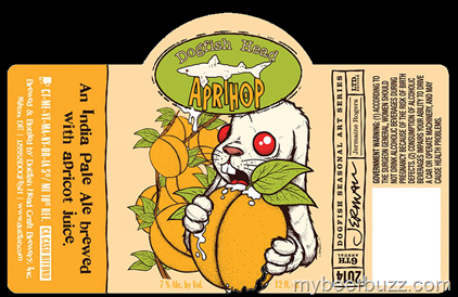 Dogfish Head Updates Aprihop & Festina Peche For 2014