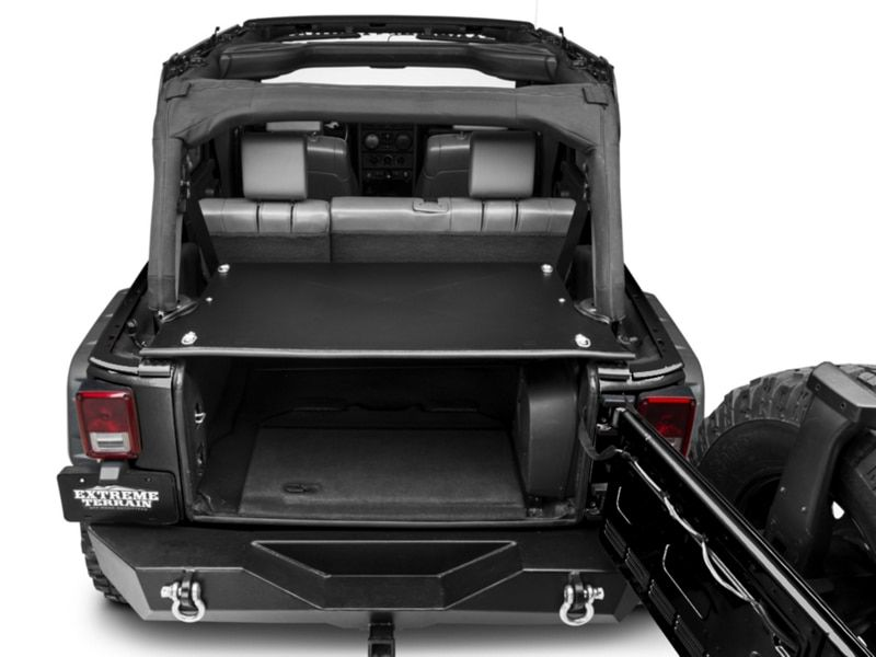 Poison Spyder Jeep Wrangler 22x8x5 Ft Trunk Gear Bag 57 17 100 Deck Enclosures Jeep Wrangler Jk Wrangler Jk