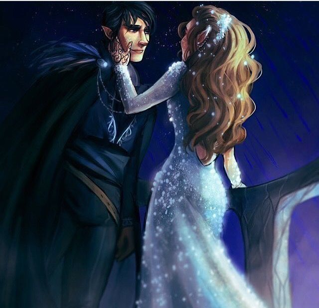 Rhys And Feyre During Starfall With Images A Court Of Mist And