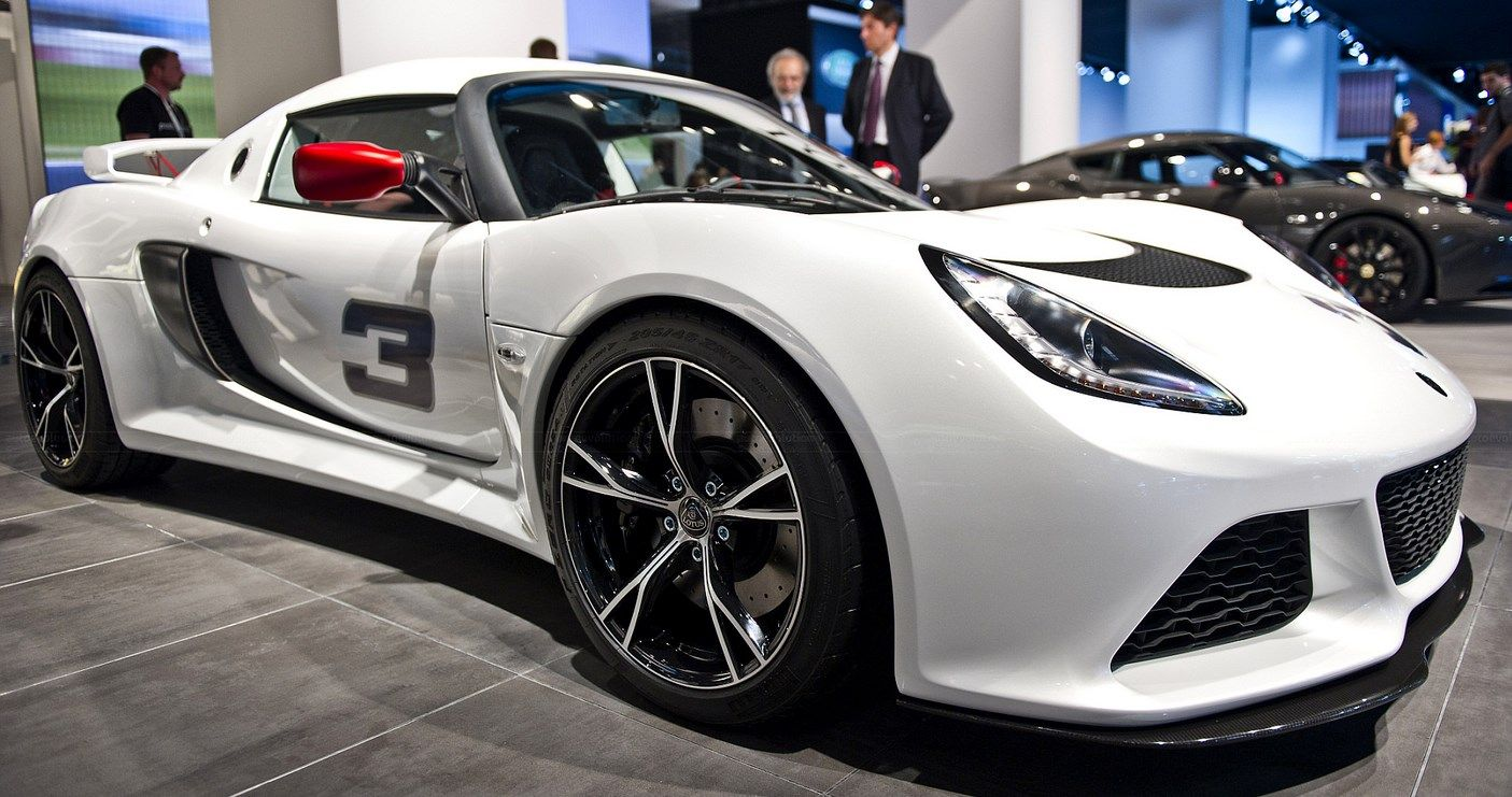 The Lotus Exige 265E Is All Because Muscles Rolls Biofuel ...