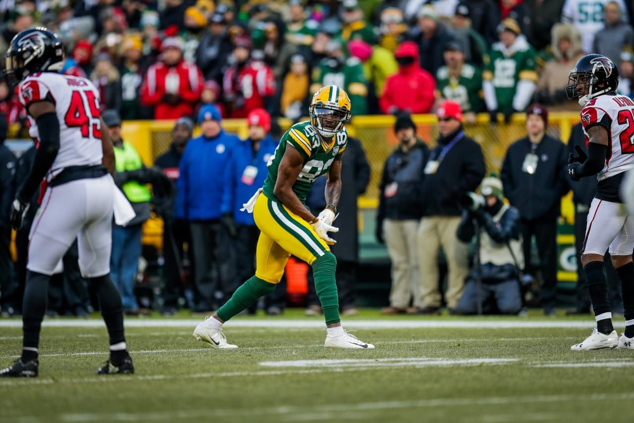 Marquez Valdes Scantling 12 9 2018 Nfl Packers Fan Atlanta