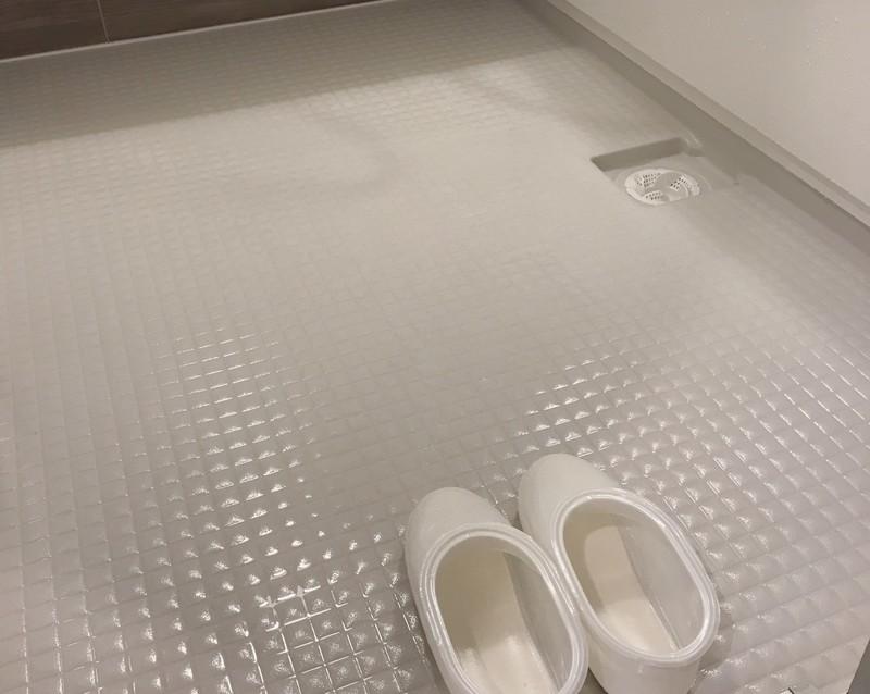 お風呂のタイルが新品のようなキレイさに Limia リミア 画像あり 風呂 床 掃除 浴室の掃除 オキシクリーン お風呂