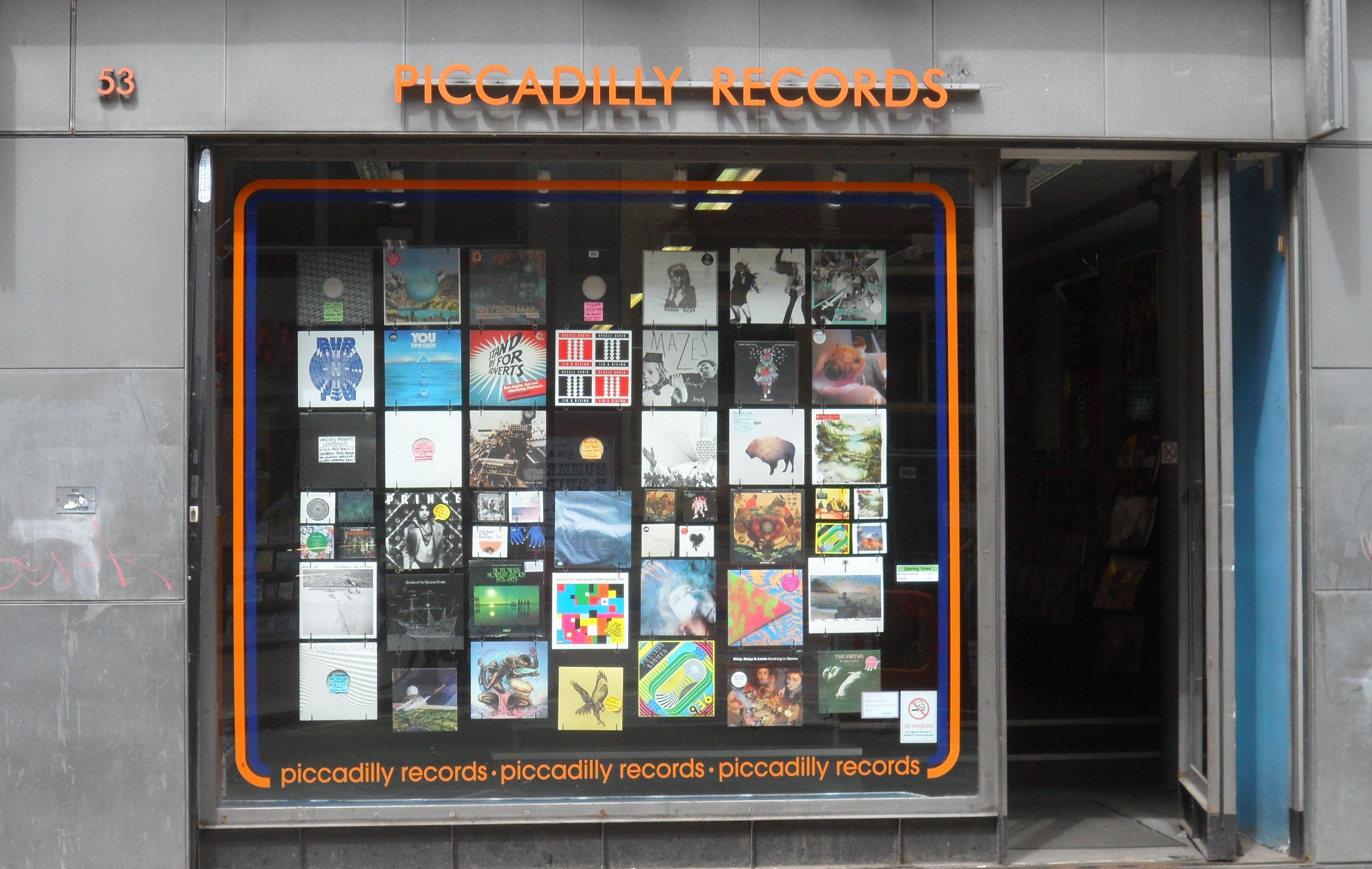 Piccadilly Records Vinyl Record Shop Record Shop Vinyl Store