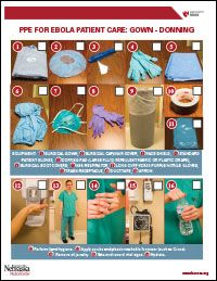 Free Poster - Donning Personal Protective Equipment | NU Edu