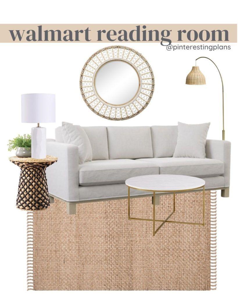 Modern Coastal Home Finds From Walmart Pinteresting Plans In 2021 Modern Coastal Home Coastal Living Room Furniture Sitting Room Design [ 1024 x 819 Pixel ]