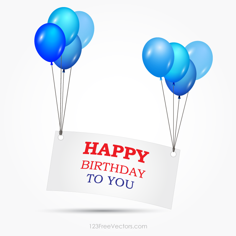 Happy Birthday Banner Clipart Vector Happy birthday banners Happy