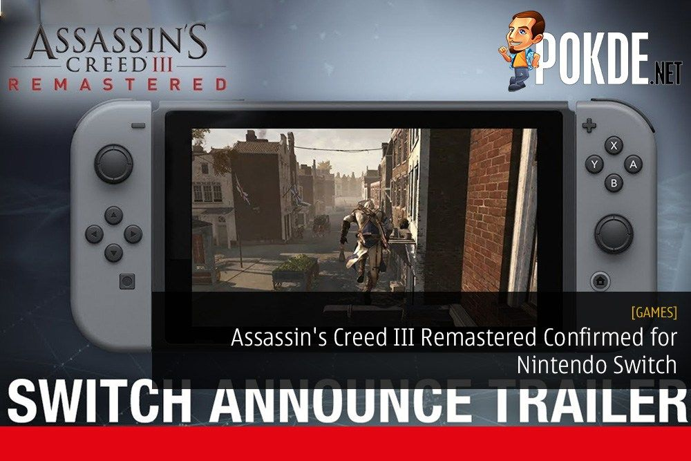 Assassin S Creed Iii Remastered Confirmed For Nintendo Switch