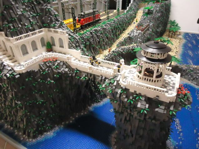 レゴの底力がわかる 巨大ジオラマ 5 レゴ ジオラマ 巨大