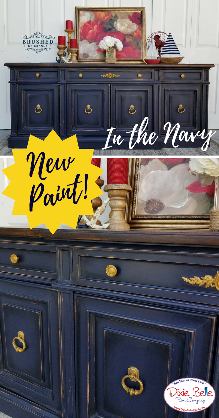 This Amazing Buffet Was Painted With The New Dixie Belle Paint
