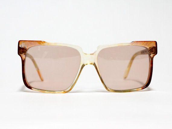 Square vintage sunglasses by Daniel Hechter Paris, 80s oversized sunglasses, sunglasses for man, unisex sungasses