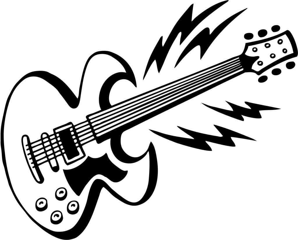 Electric Guitar Graphic