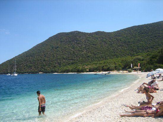 Antisamos Beach, kefalonia. good for snorkelling
