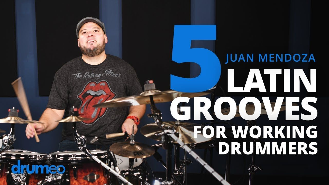5 Latin Grooves Every Drummer Should Know Juan Carlito Mendoza