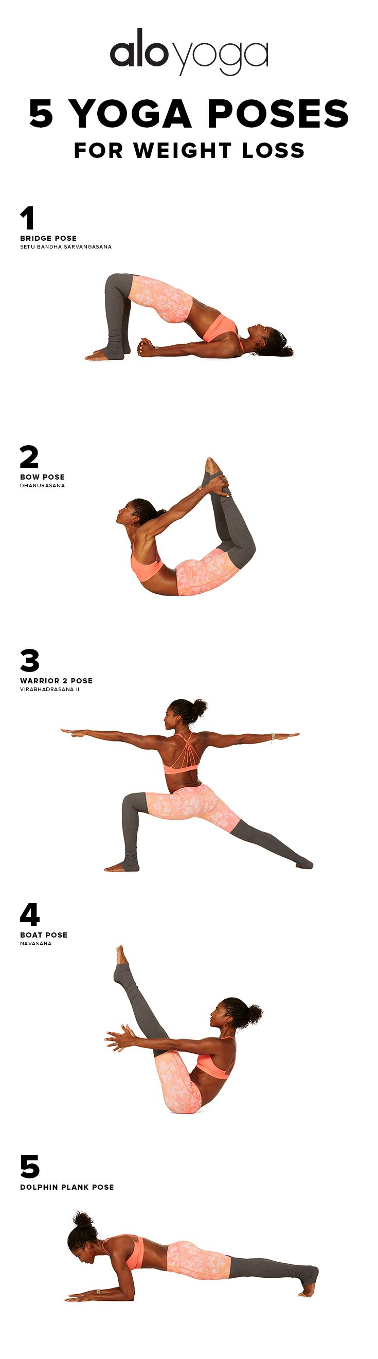 5 Yoga Poses For WeightLoss