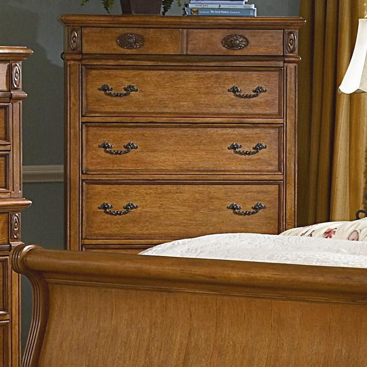Southern Heritage 5 Drawer Chest by kathy ireland Home by Vaughan ...
