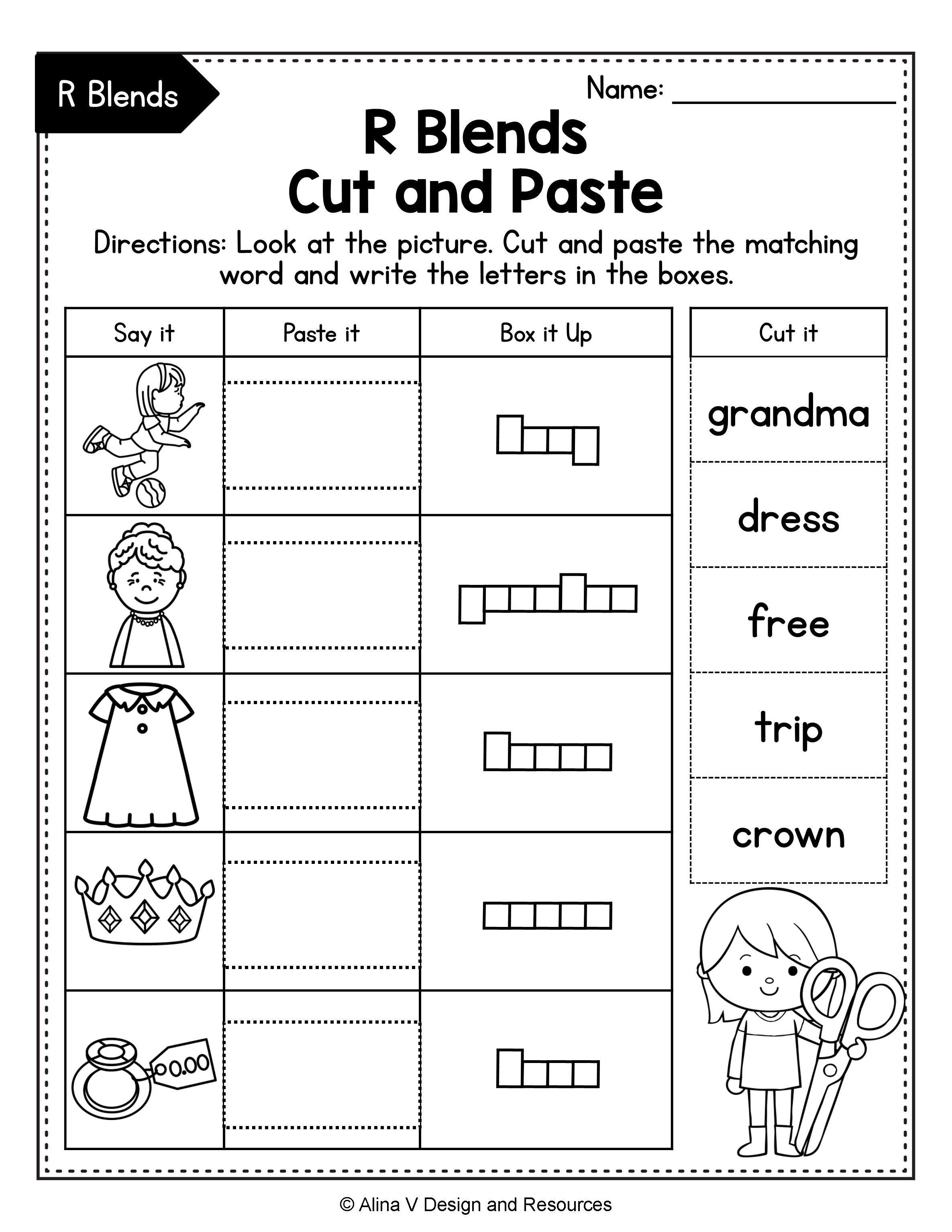 Beginning Blends Worksheets Bundle Consonant Blends Blends Worksheets Consonant Blends Worksheets Kindergarten Worksheets Kindergarten phonics blends worksheets