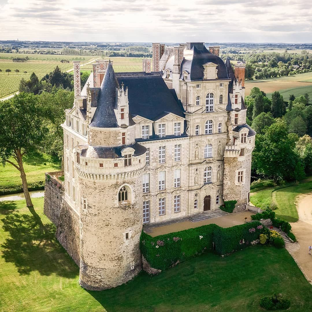 We Present The Chateau De Brissac Is A French Chateau