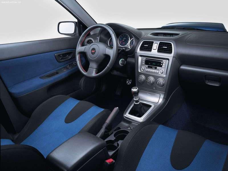 2004 Sti Interior This Is What True Blue Means Subaru Impreza