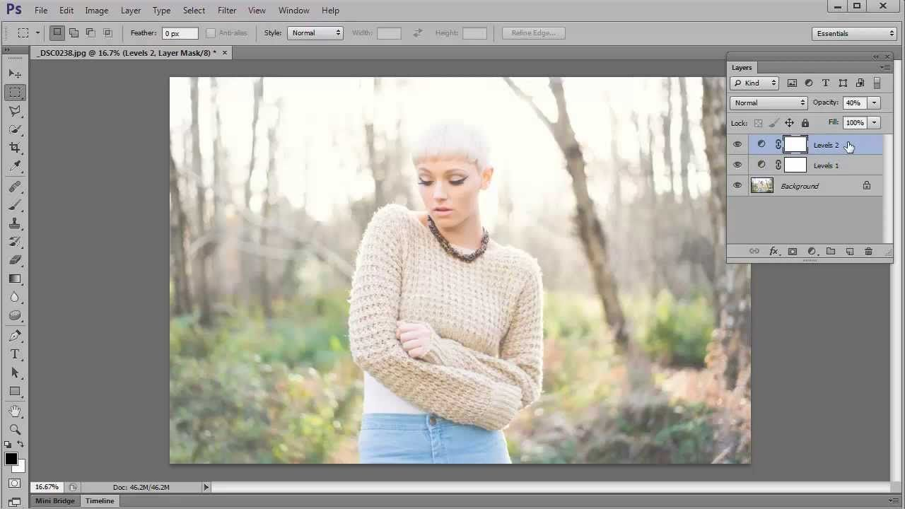 Create A Vintage Hazy Summer Effect In Photoshop And Elements