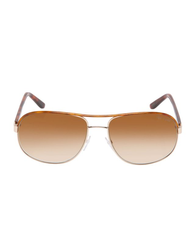 Ideales para ir en Scooter - Tom Ford Unisex Sunglasses - Oval Brown från Multi Fashion Brands Sunglasses - www.Campadre.com
