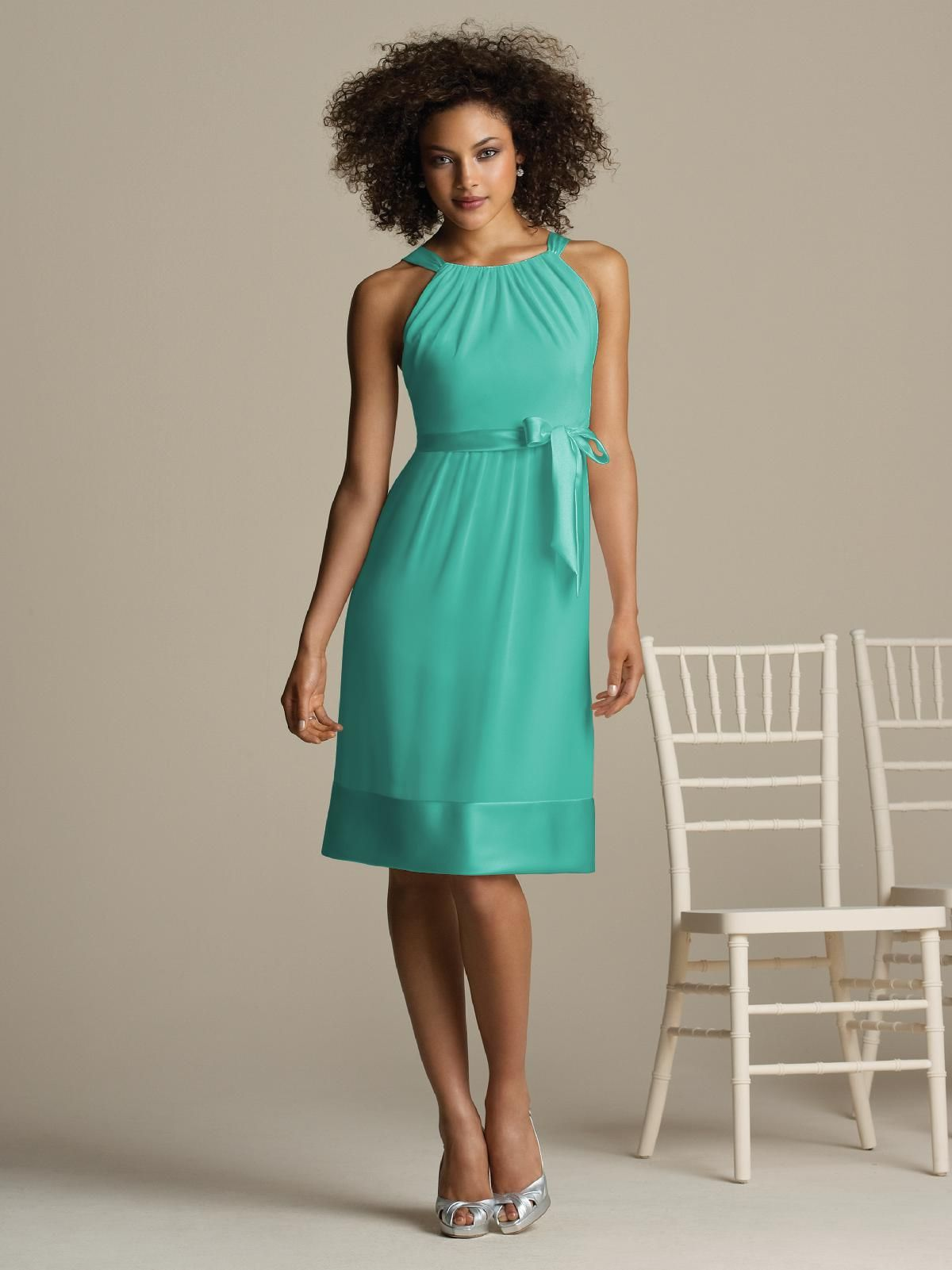 Dessy - after six - pantone turquoise | bridesmaid dresses ...