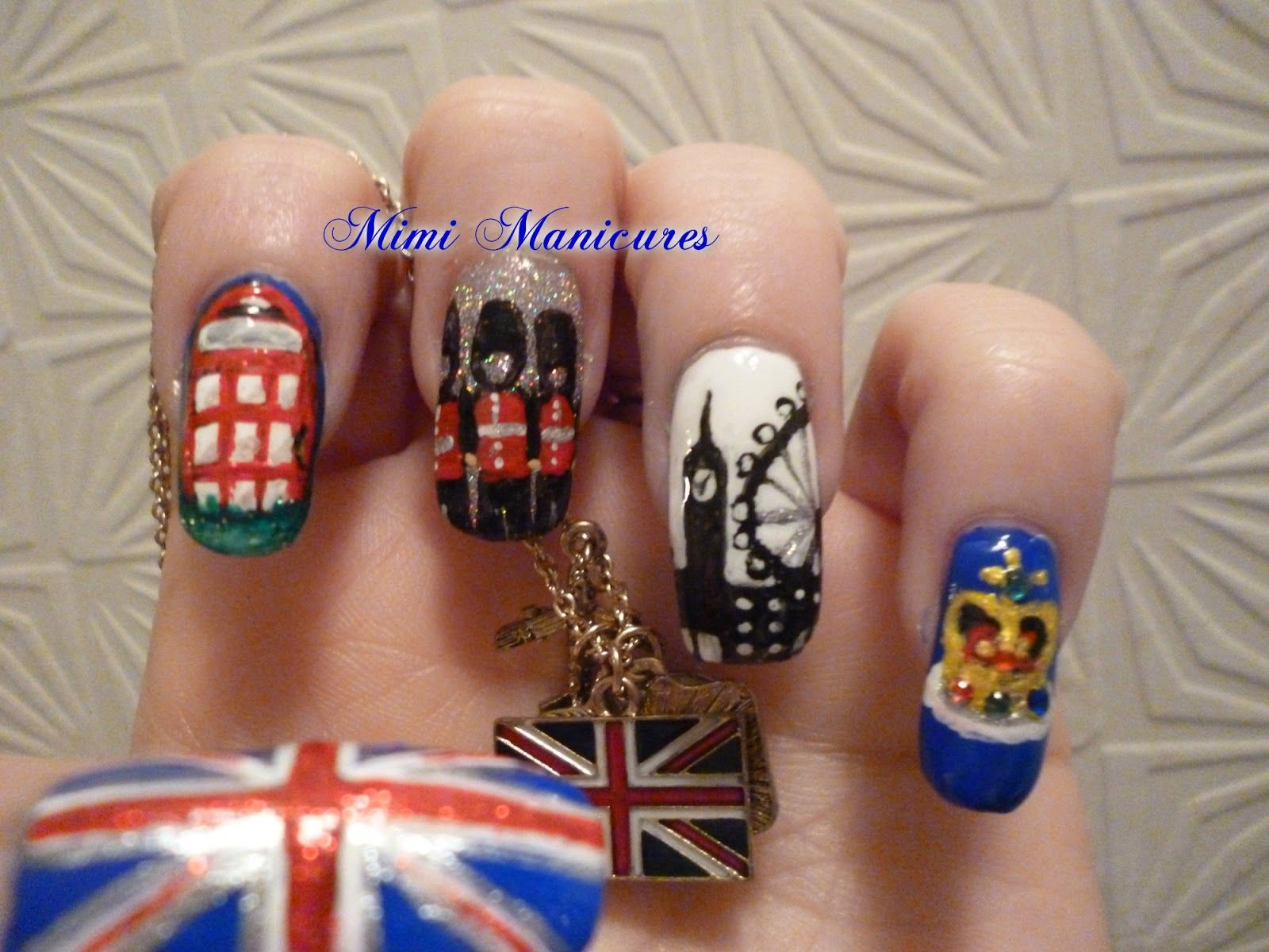 my adventures in nail polish: 31 day challenge day 26..inspired by ...