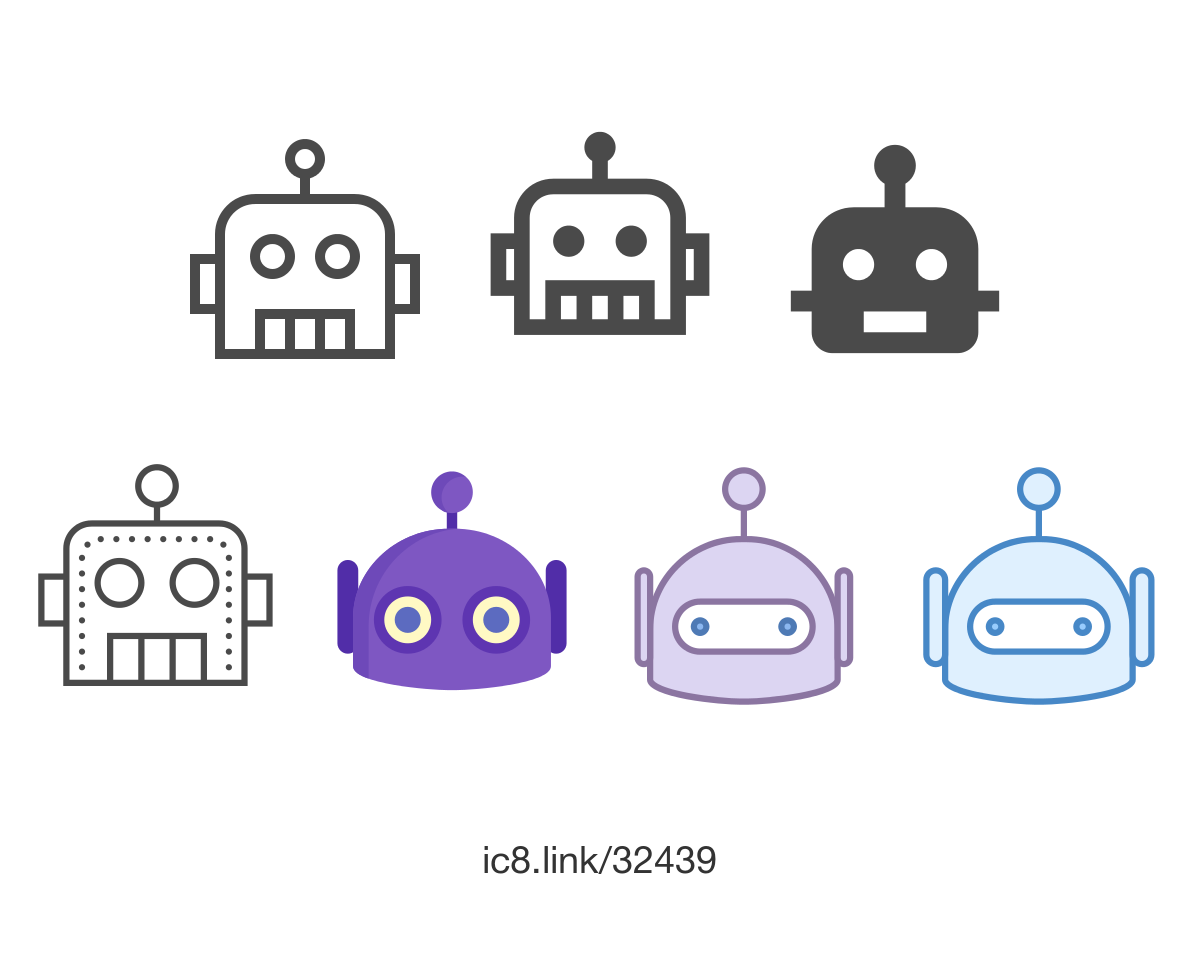 Free Flat Bot Icon Of Two Tone Available For Download In Png Svg And As A Font Icons Graphicdesign Design Icon Icon Design Png