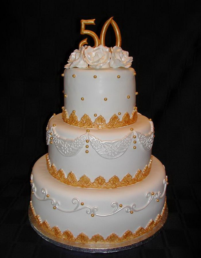 Wedding Anniversary Cake Design Ideas : 50th Wedding Anniversary Cakes Ideas Anniversary Cake ...