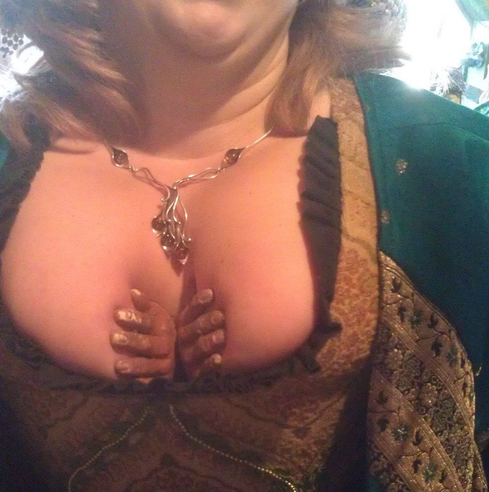 Renaissance weird boob holder