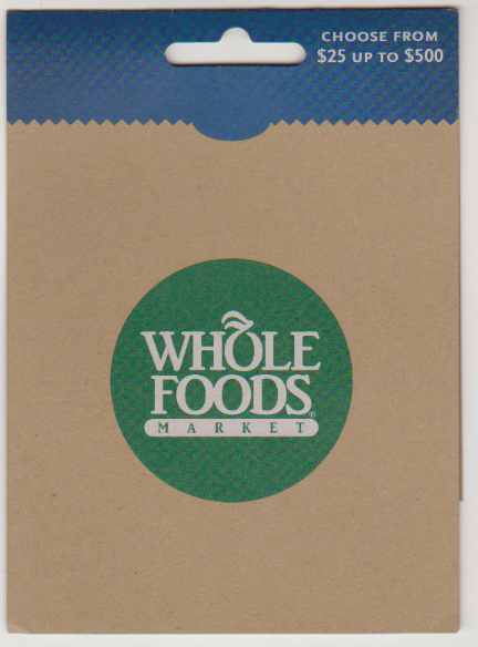 Whole Foods Food Gift Cards Whole Foods Gift Card Whole Foods Market