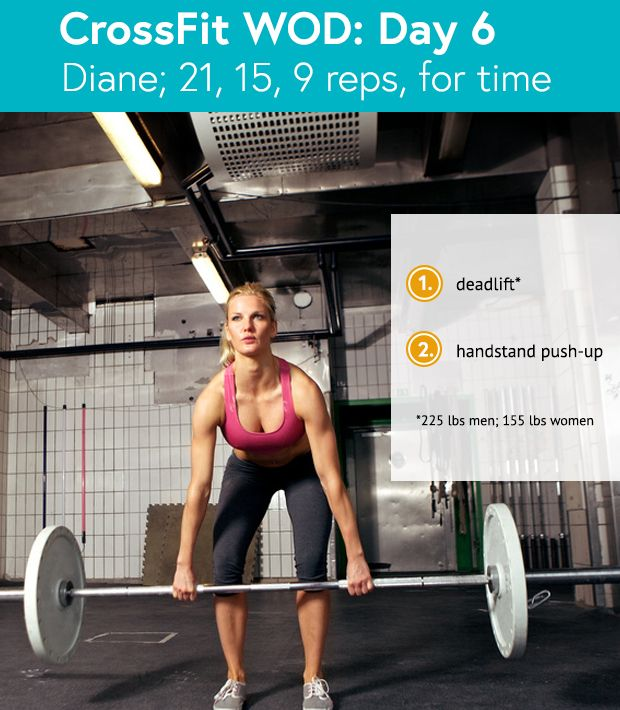 Crossfit Workout Routines: 6 Killer CrossFit Workouts Under 12 Minutes