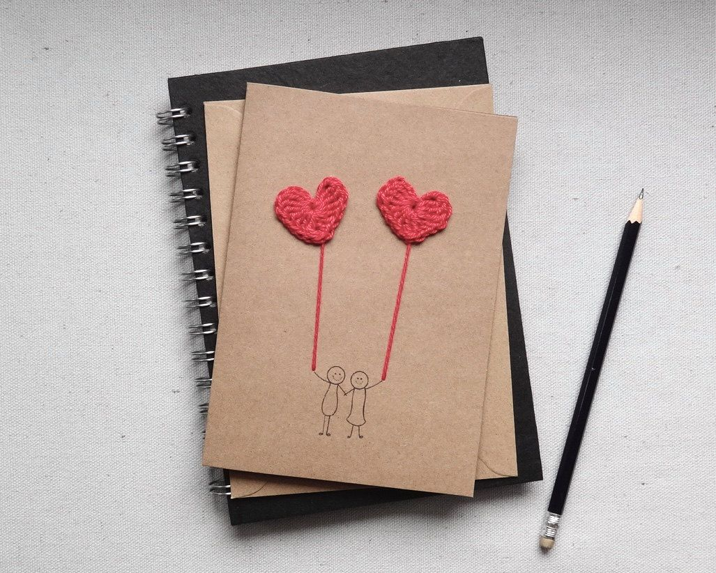 Handmade anniversary card i love you card handmade for Handmade anniversary gift ideas