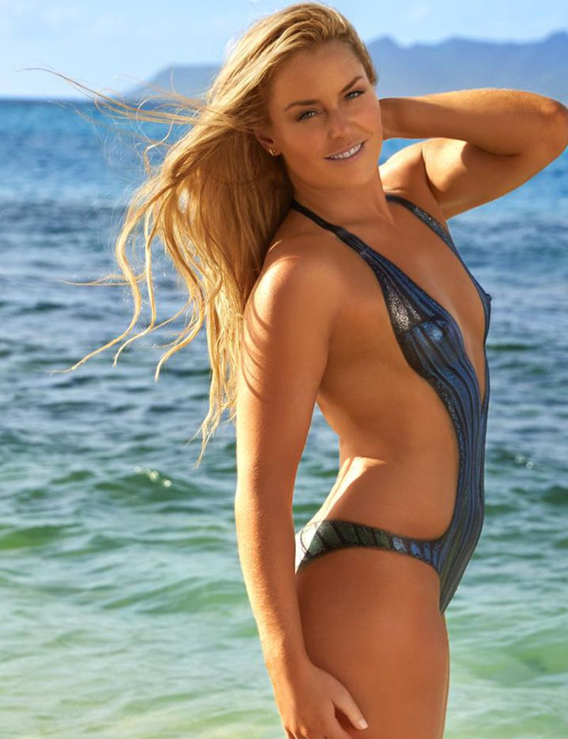 Lindsey Vonn Naked On The Beach In Body Paint On Taxidrivermovie Com