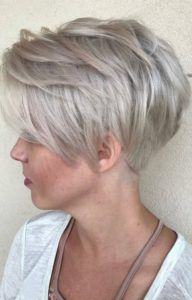 Helga Matulls Strähnchen Kurzhaarfrisuren Für Graue Haare Hair