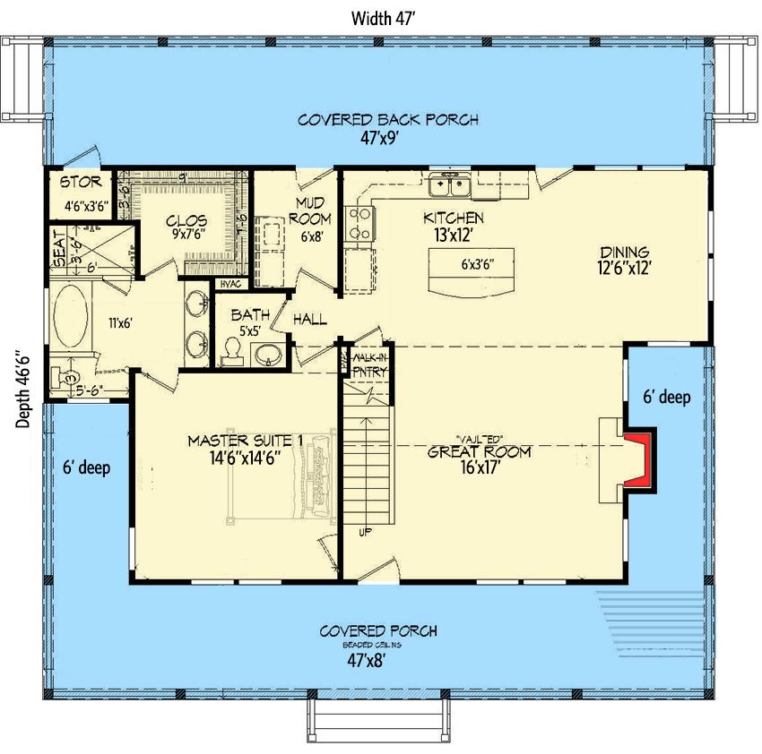 42+ Farmhouse plans with 2 master suites model