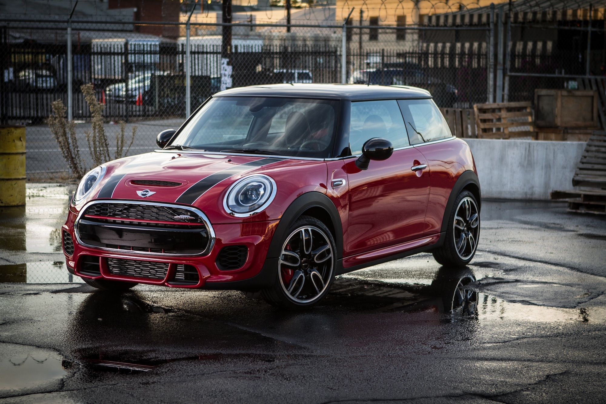 Appetite for acceleration. Click to watch The New MINI John Cooper Works crew up for a cruise with Tony Hawk and Guerlain Chicherit.