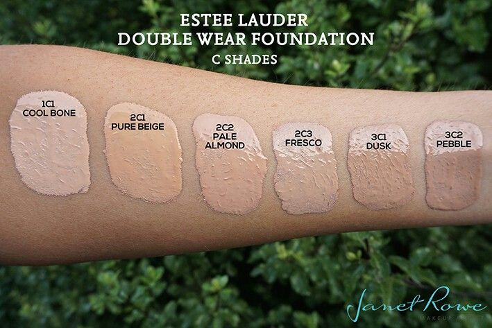 Estee Lauder Double Wear Foundation Review, Swatches