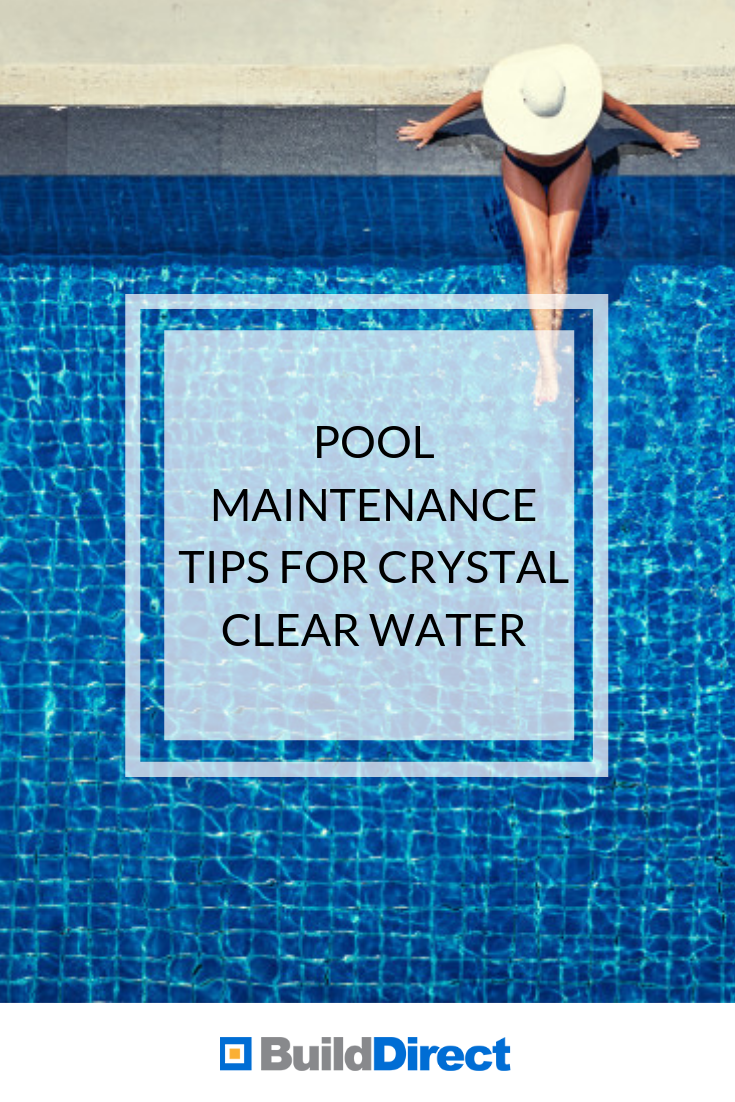 Pool Maintenance Tips For Crystal Clear Water Pool Maintenance Swimming Pool Maintenance Crystal Clear Pools