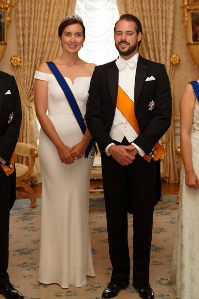 Princess Claire of Luxembourg and Prince Felix of