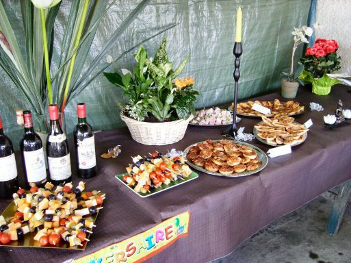 Organiser un buffet pour 30 personnes for the party for Table 30 personnes