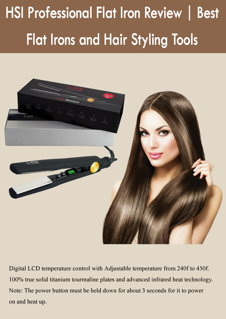 HSI Professional Flat Iron Review : Hair Straightener Beauty