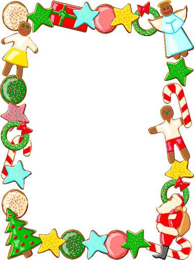 Pin by I T on Borders/Frames - Christmas & Winter | Pinterest | Clip ...