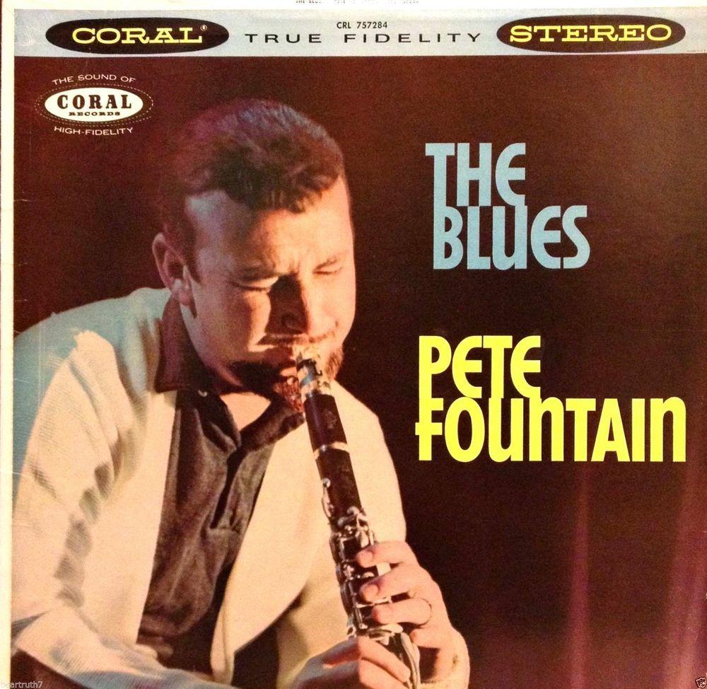 Pete Fountain The Blues 12 Lp Original Coral Crl 757284 Orig Inner Sleeve Vg Deltablueseastcoastblues Record Jacket Delta Blues Vinyl Records