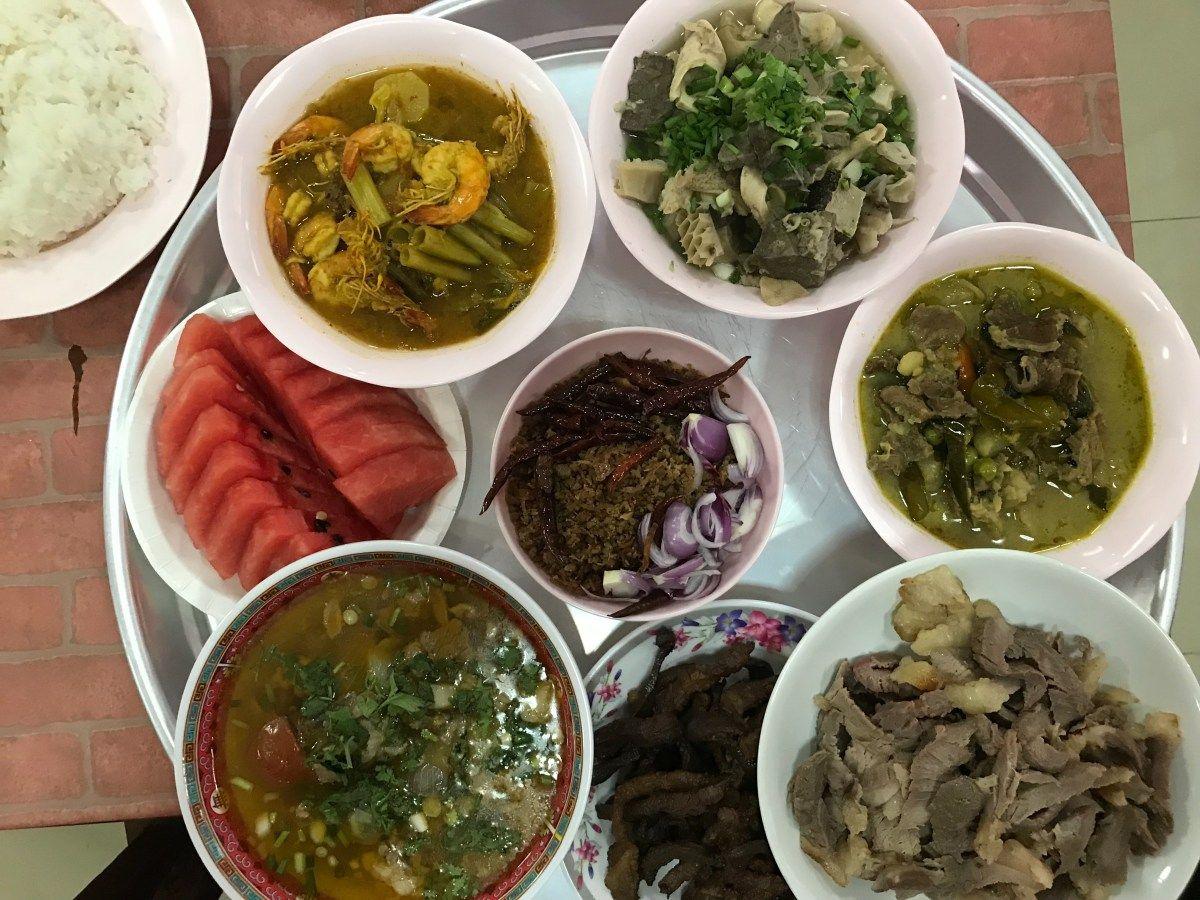 Halal Food Food Thai Street Food
