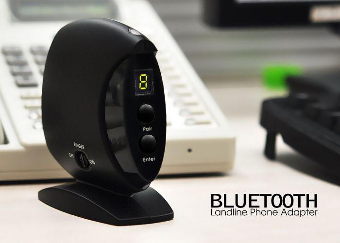 Wireless Bluetooth Landline Phone Adapter With This Bluetooth Phone Adapter You Can Use Any Bluetooth Headset With Your Landline Telephone For Wireless C