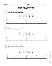 Les fractions CM1-CM2 | maths CM1 | Fraction cm1, Cm1 cm2 ...