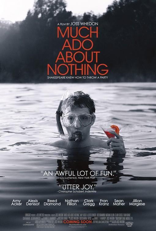 """""""Mucho ruido y pocas nueces"""" (2012), dirigida por Joss Whedon."""